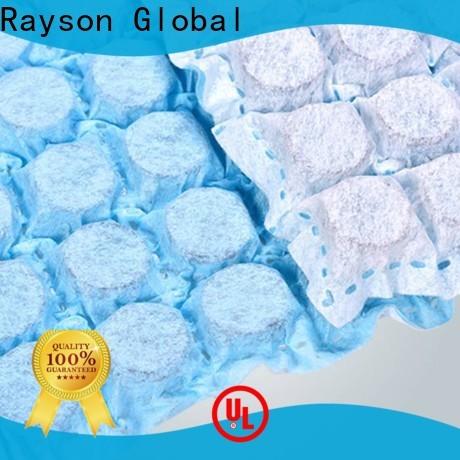 Rayson محبووف بالجملة جودة عالية البولي بروبيلين سبونبوند النسيج غير المنسوجة المزود