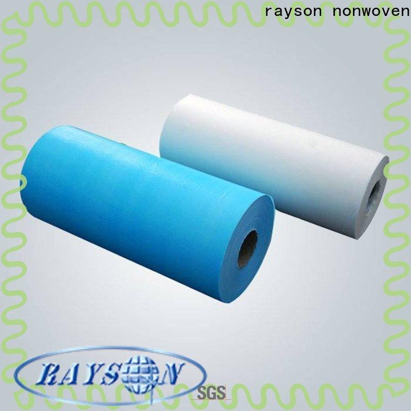 Rayson não tecido não tecido OEM poliéster a granel