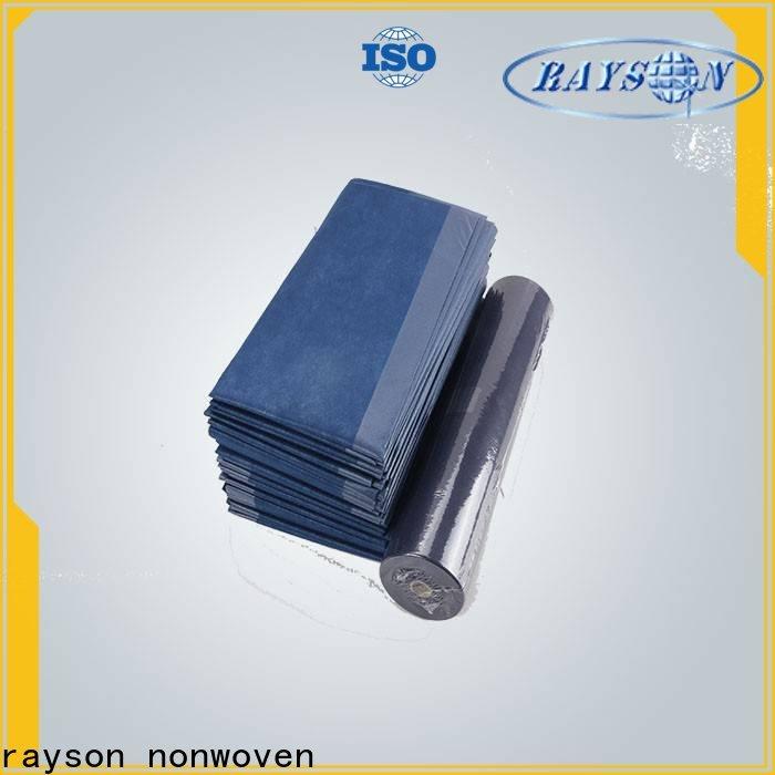 Rayson no tejido no tejido impermeable tela laminada proveedor