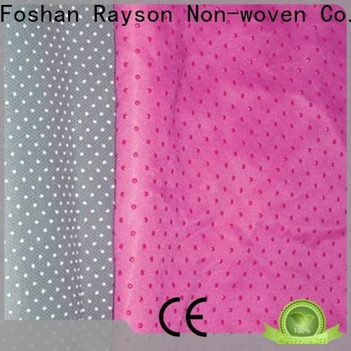 Rayson غير منسوجة مخصص أفضل نسيج غير قابل للانزلاق من أجل شركة النعال