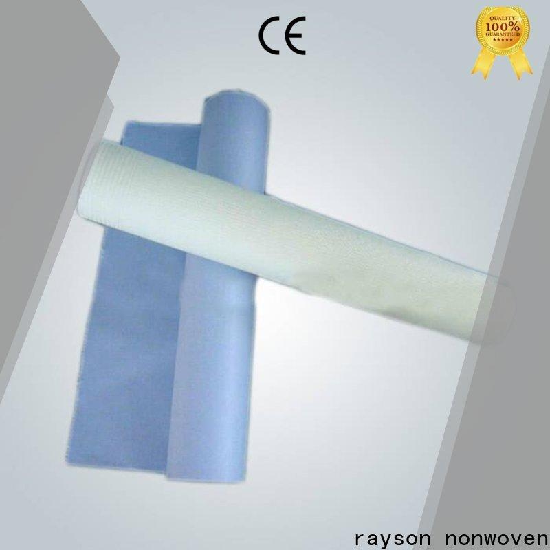 Rayson Nonwoven OEM Surya tecido não tecido fábrica