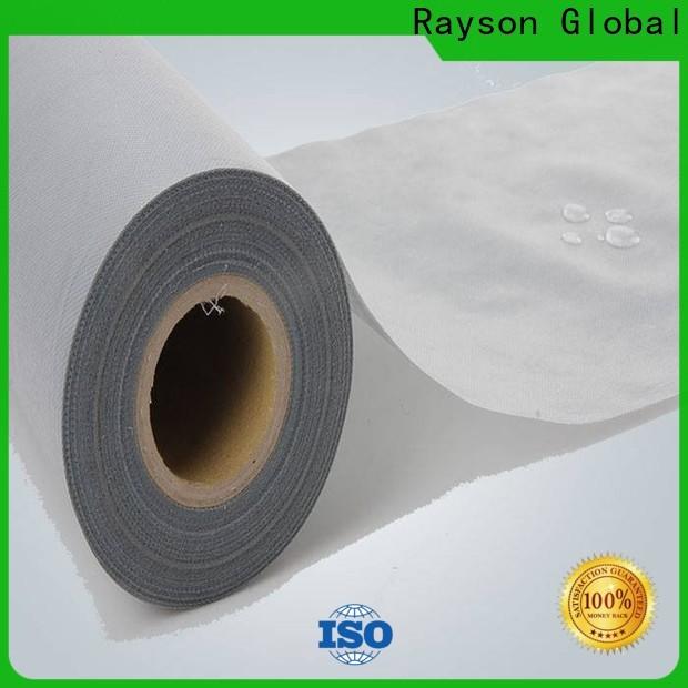 Rayson a granel compra empresa de processo de fabricação de tecido não tecido personalizado