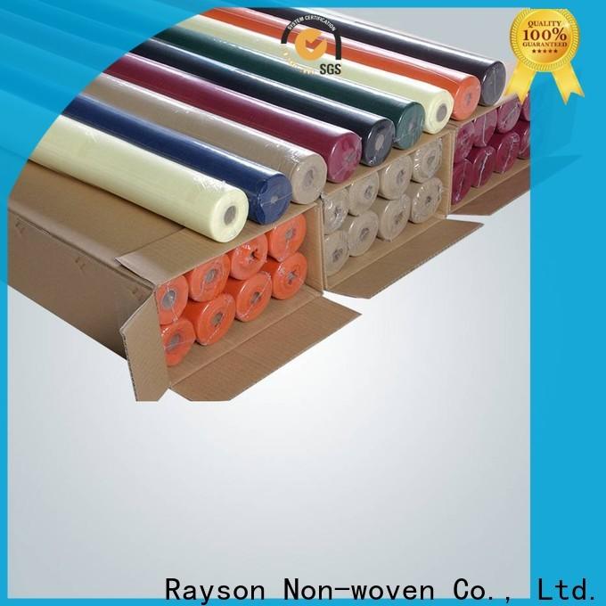 Rayson Vlies-benutzerdefinierte odm Vlies-Einweg-Tischabdeckung Rollenlieferant