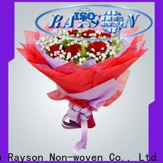 Benutzerdefinierte Nonwoven-Florist-Verpackungs-Papierversorgung Hersteller