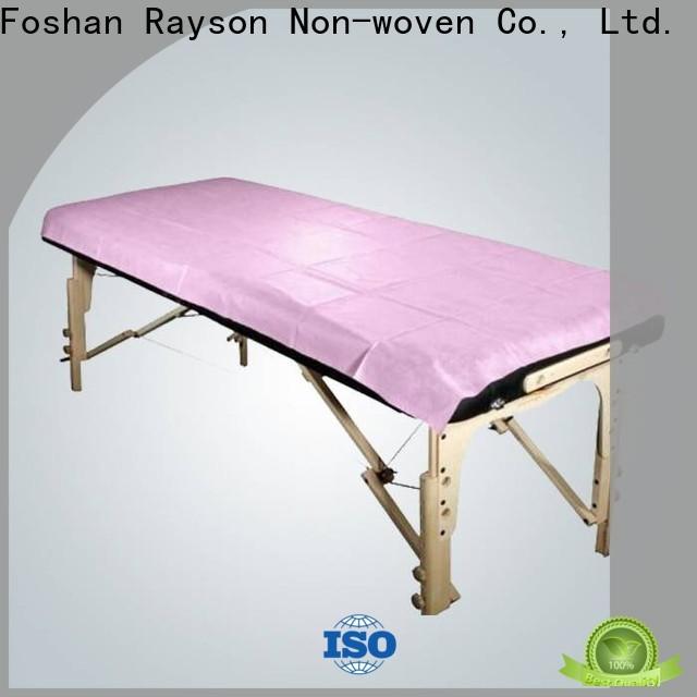 Bulk non tessuto rayson Compra coprisedili personalizzati per massaggi non tessuti fabbrica