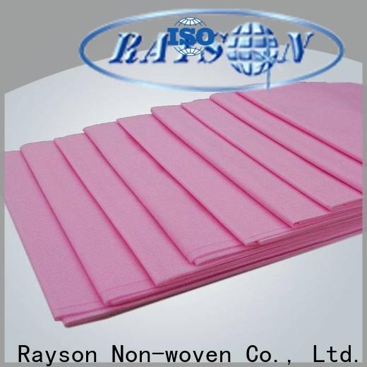 Rayson Nonwoven Rayson Bulk Buy Best Lamined PP Nonwoven Fabric Proveedor