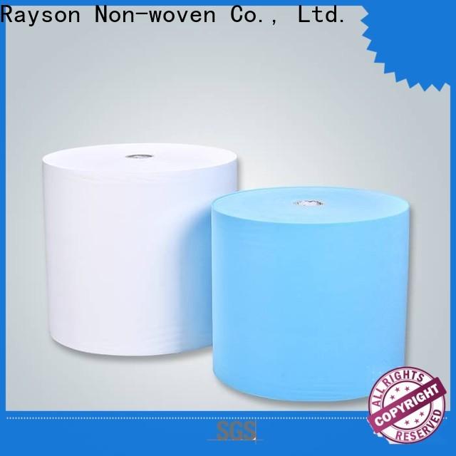 Rayson Nonwoven Rayson Bulk Acquista fornitore non tessuto non tessuto di alta qualità SS Spunbond