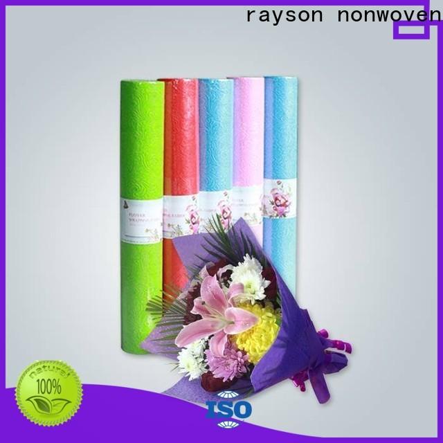 Rayson Non tessuto all'ingrosso ODM ODM Non tessuto florist in carta da imballaggio forniture produttore Flower Geft Shops