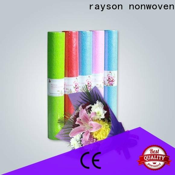 Negozi di regali floreali senza tessuti non tessuti Rayson