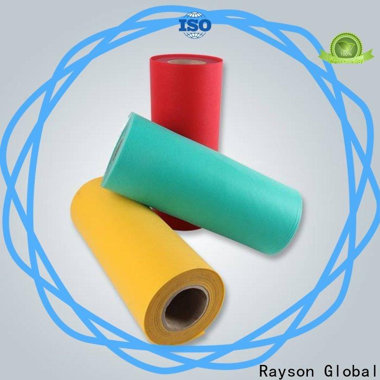 Fabricante de tela de polipropileno no tejido no tejido Rayson