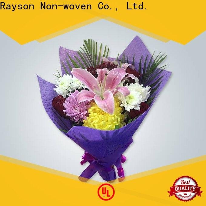 I migliori produttori di carta non tessuti non tessuti non tessuti del rayson nei negozi di fiori bulk