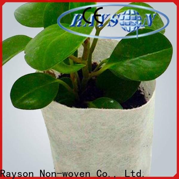 Fornitore di tessuto da giardino di pesi di estate non tessuto Rayson