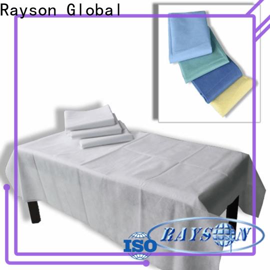 Le lenzuola monouso non tessuti Rayson vicino a me fabbrica