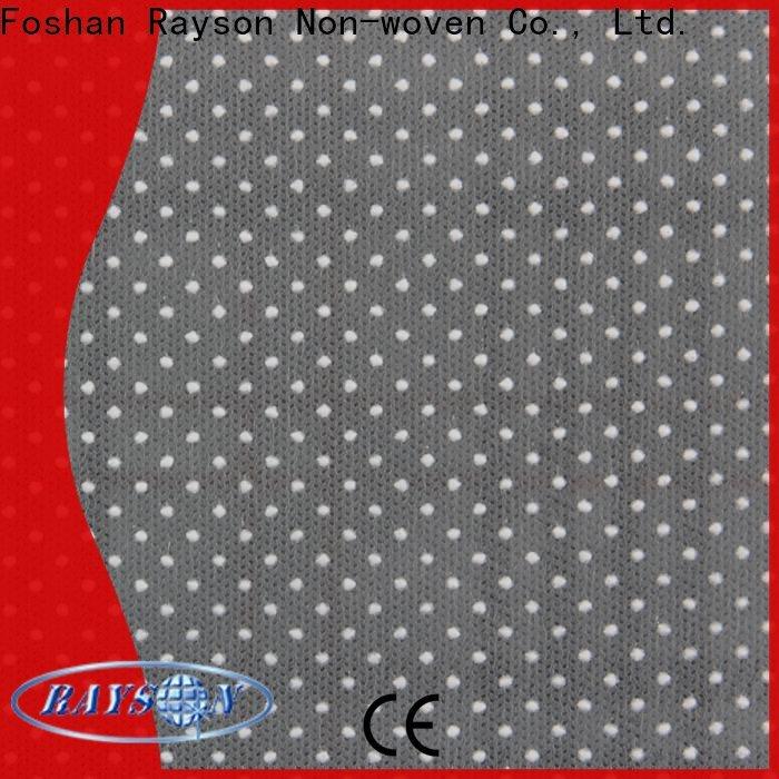 Rayson não tecido não derrapante de tecido de costura a granel