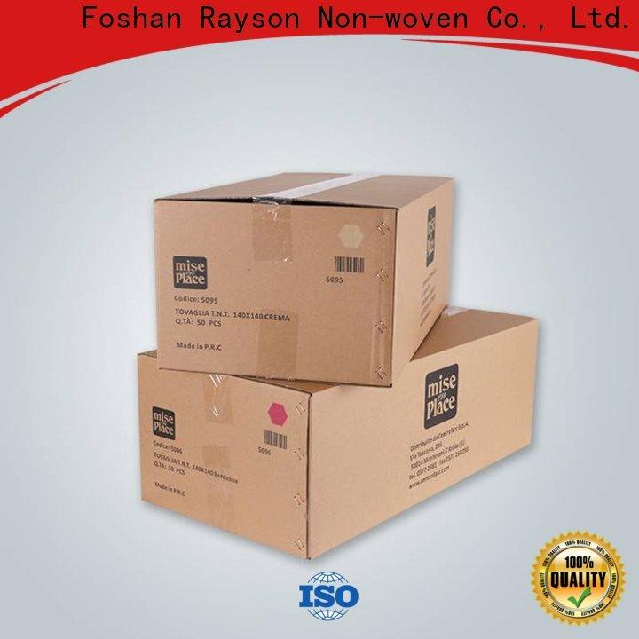 Rayson personalizzato TNT tessuto tessuto non tessuto fabbrica