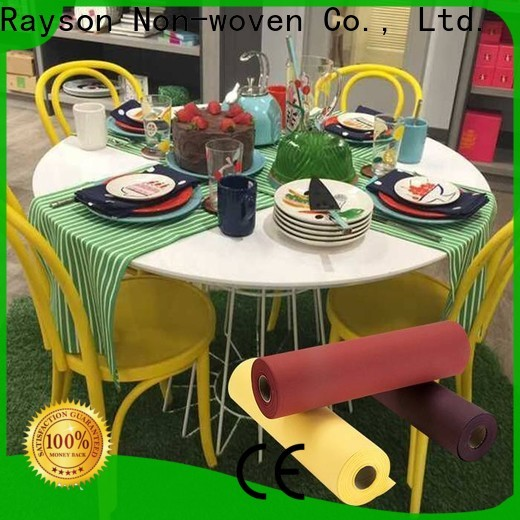 Rayson Custom ODM ODM Tovaglia TNT TNT Tessuto fabbrica