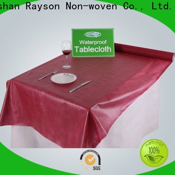 rayson nonwoven toalha de mesa descartável Price