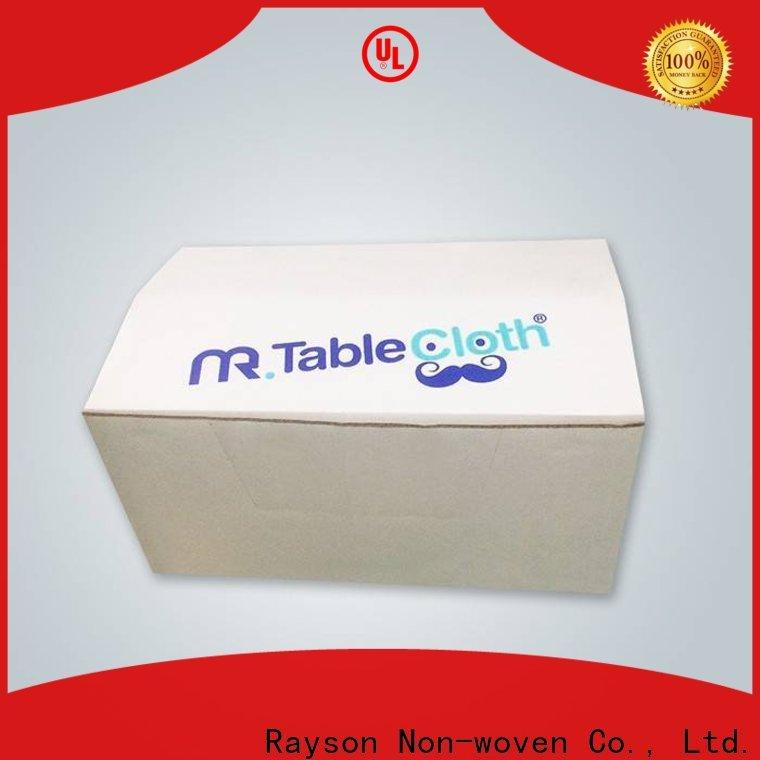 Rayson Vlies-Einweg-Tabellenabdeckungen mit elastischem Preis