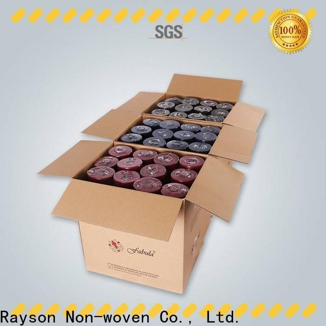 Società di stoffa TNT di alta qualità RAYSON personalizzata
