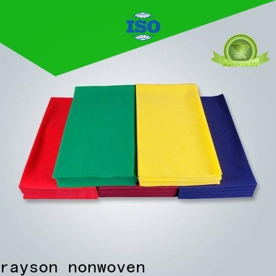 Rayson Vlies-montierter Einweg-Tabellenabdeckungen Fabrik
