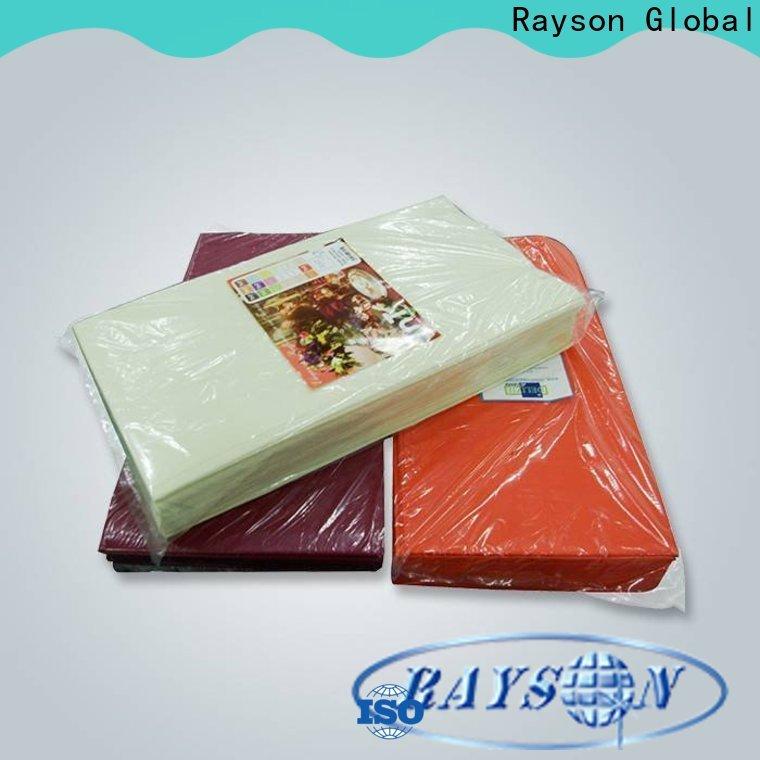 Rayson Nonwove Rose Gold Einweg Tischdecke Hersteller