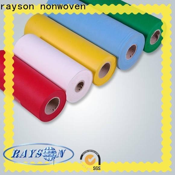 Rayson Nonwoven Polipropileno Spunbond e Meltblown Nonwoven Tecidos Company