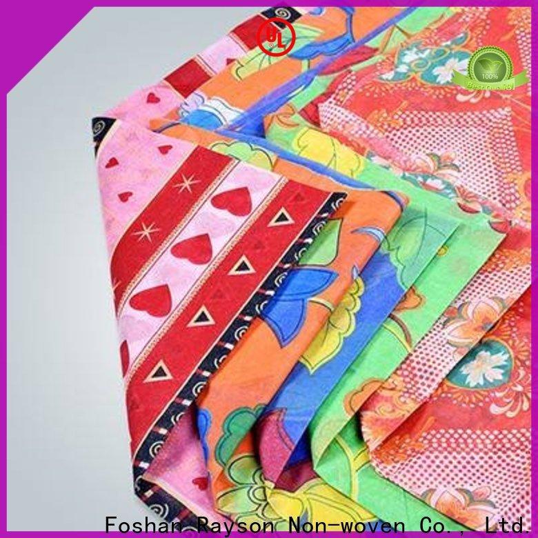 Rayson Nonwoven ODM Migliore tessuto tessuto da tappezzeria floreale tradizionale non tessuto