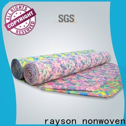Fornitore di tessuto da tappezzeria floreale anti-stampa anti-stampa di Rayson