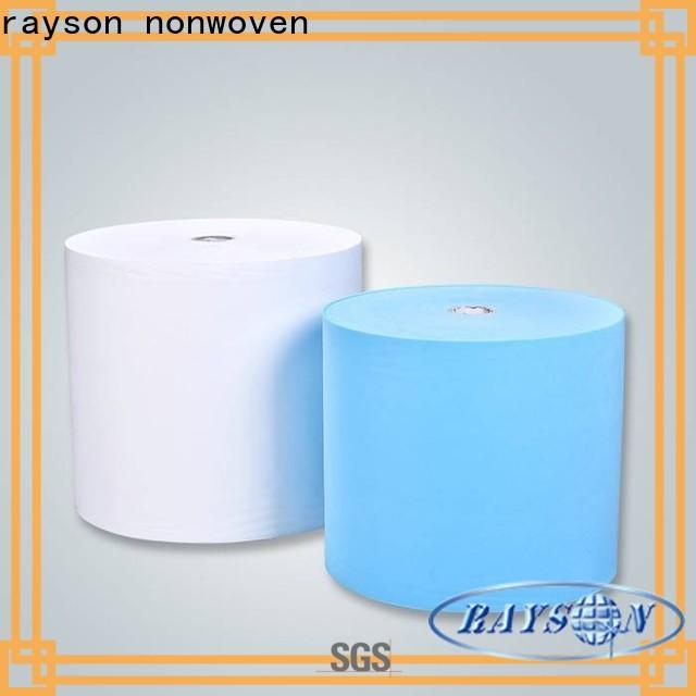 Rayson nonwoven compra a granel OEM pp meltblown nonwoven tecido fábrica
