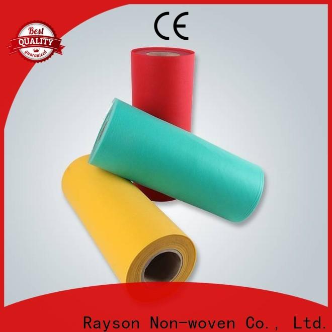 Rayson melhor tecido de polipropileno spunbond fornecedor