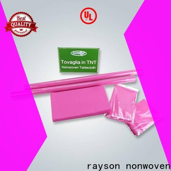 Rayson Nonwoven Rayson TNT TNT Tovaglia tessuto non tessuto Prezzo