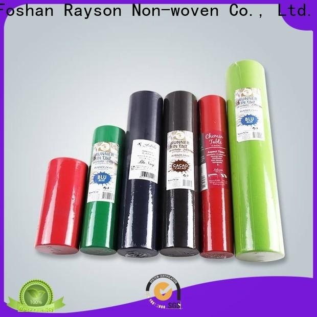 Rayson não tecido descartável da tampa da tampa da tabela fábrica