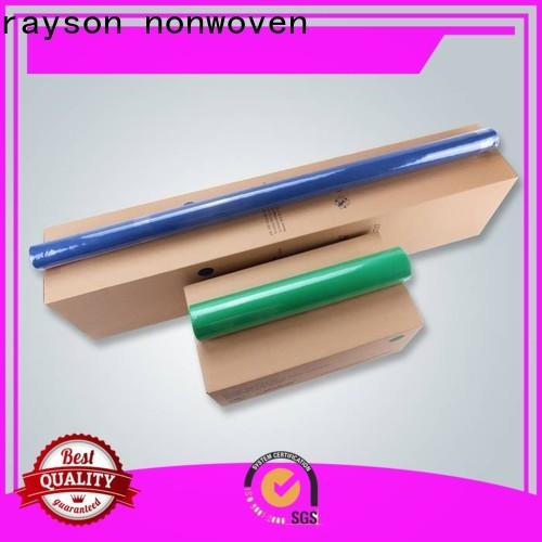 Rayson não tecido não tecido não tecido barato barato tablecloths fabricante