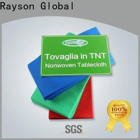Rayson Nonwoven Eco amigável para tablecloths descartáveis a granel