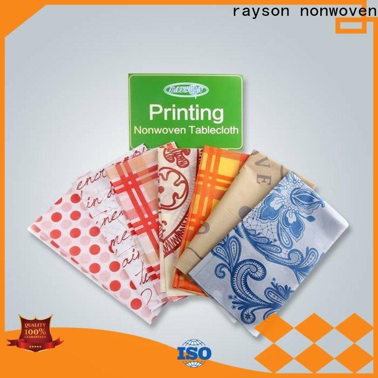 Tovaglie usa e getta monouso personalizzate personalizzate personalizzabili per tessuti di Rayson