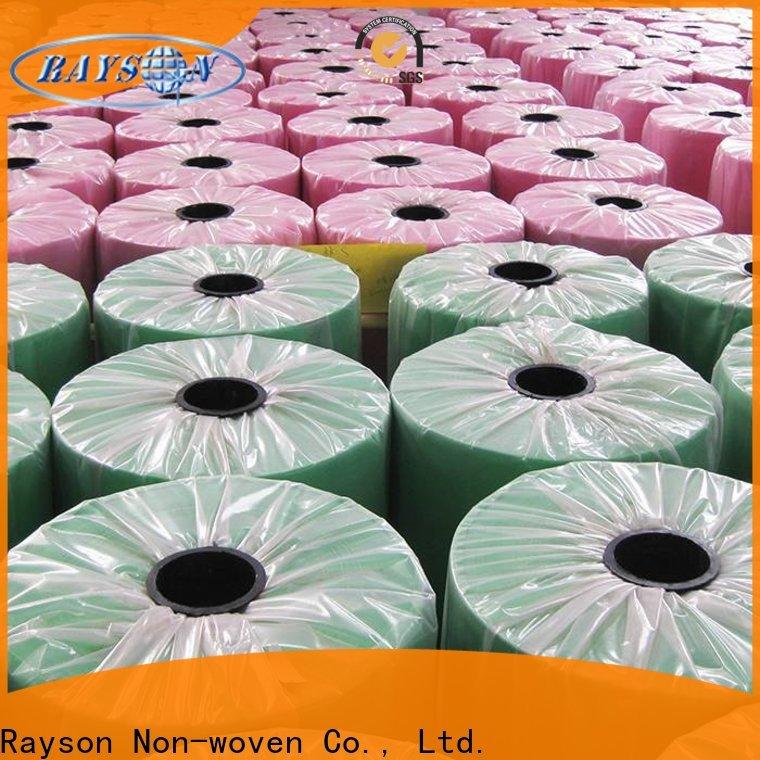 Rayson nonwoven a granel comprar melhor fornecedores de polipropileno Spunbond fábrica