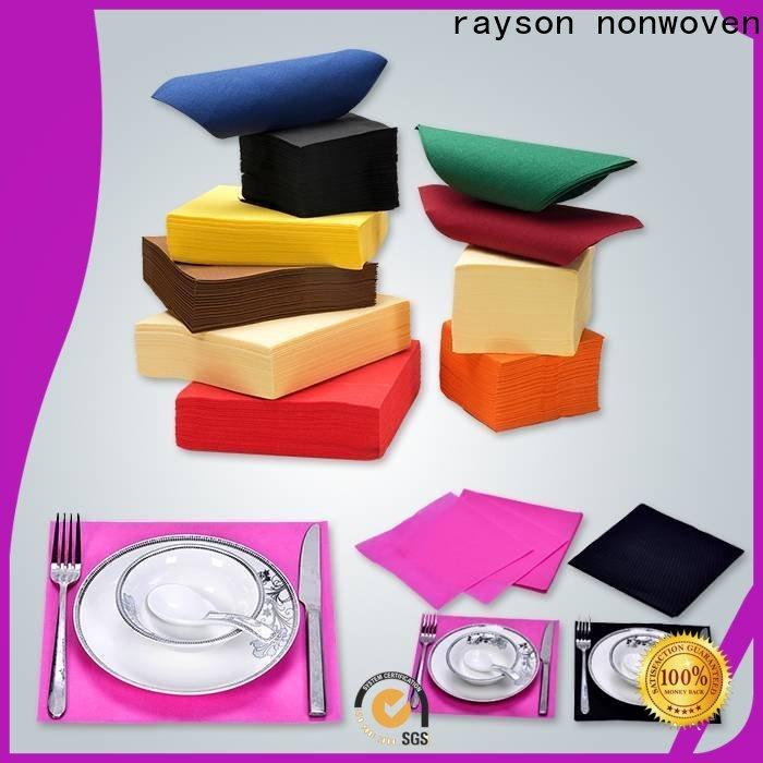 Wholesale tablecloths descartáveis nonwoven do ODM fornecedor