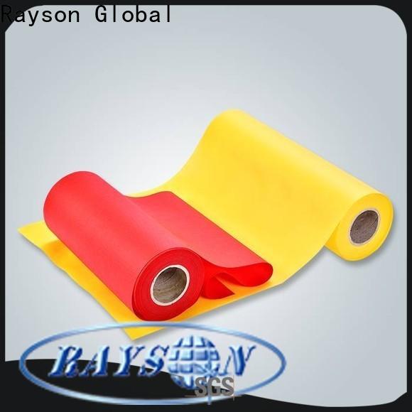 ODM de alta qualidade polipropileno spunbond não tecido da tela