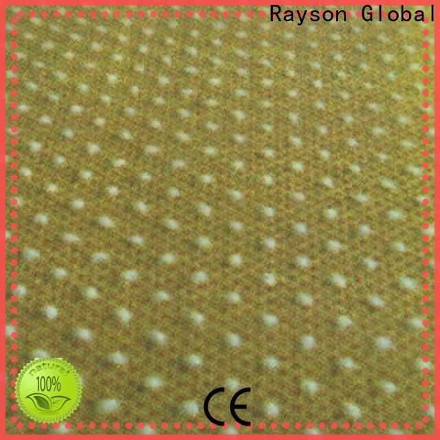 Rayson não tecido não desinfetante material de apoio fábrica