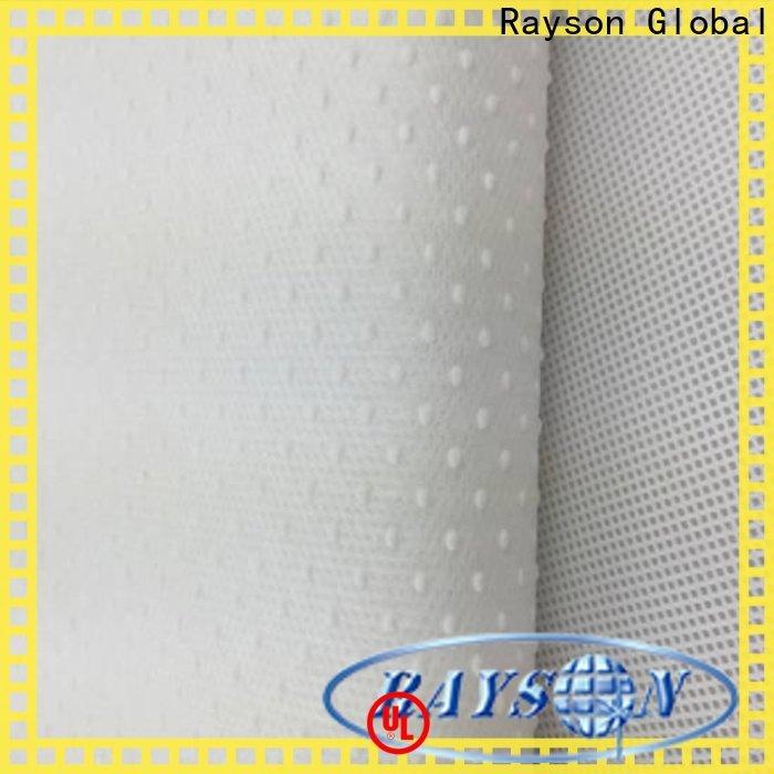 Rayson Nonwoven Rayson Personalizado Nonwoven Non Slip Estofos Tecido Fabricante