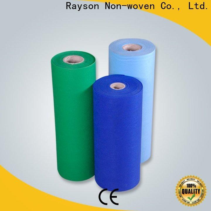 Rayson Nonwoven Rayson Commercio all'ingrosso di alta qualità Polka Dot PVC Produttore