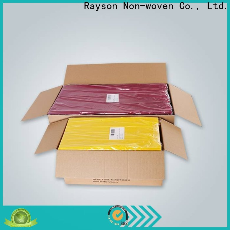 Rayson Nonwove Black Einweg Tischdecke Hersteller