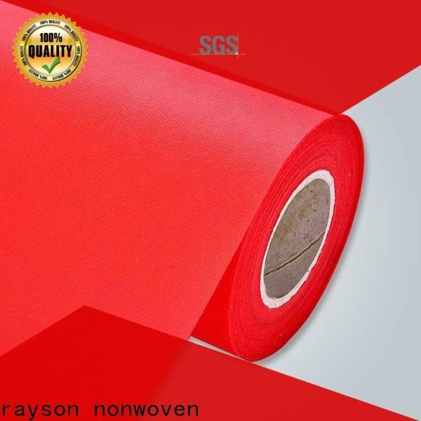 Produttore di stoffa ignifugo non tessuto personalizzato Rayson