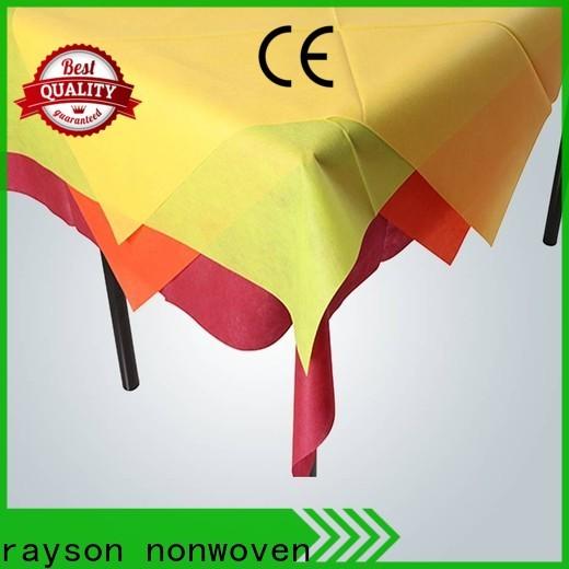 Rayson Vlies-Bulk-Kauf benutzerdefinierte Nonwove-Einweg-Weihnachtstisch-Tuch-Firma