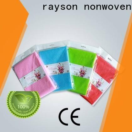 Rayson Nonwoven OEM de alta calidad no tejido no tejido de papel fábrica