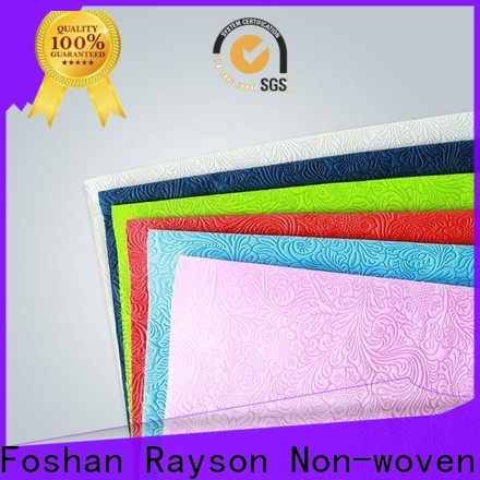 Rayson Best Vove BESTE verfügbarer Einweg-Tischdecke Firma