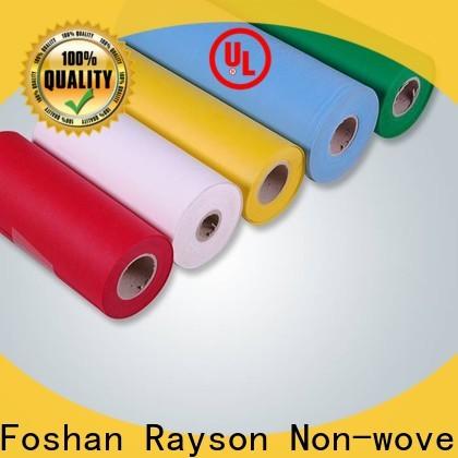 Rayson Nonwoven Bulk Compra Alta Calidad Nonwoven Melt Polypropylene Polypropylene Price