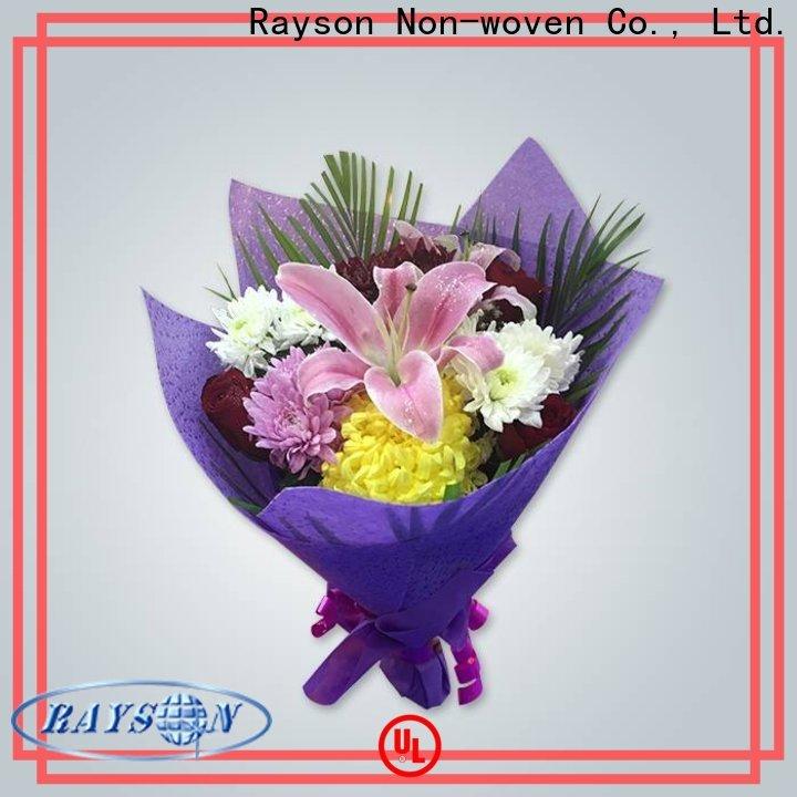 Rayson Nonwoven OEM El mejor fabricante de envoltura no tejida no tejida