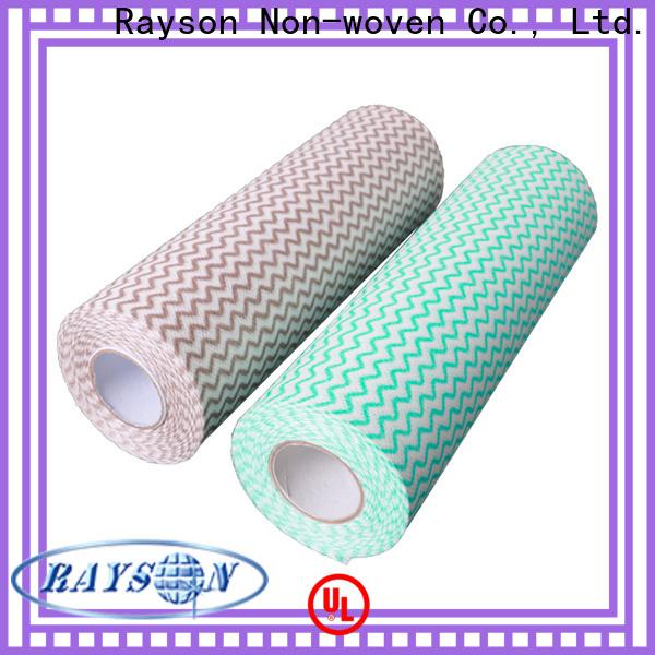 Bulk Acquista il miglior tessuto non tessuto di spunlace per il produttore di salviettine idonei