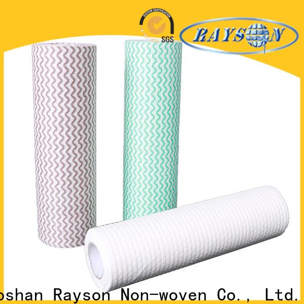 Rayson Nonwoven Rayson Bulk Acquista fornitore di fornitori di tessuto non tessuto spunlace personalizzato fornitore